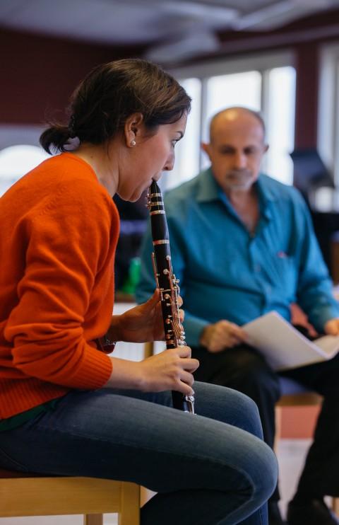 Aurora clarinett masterclass